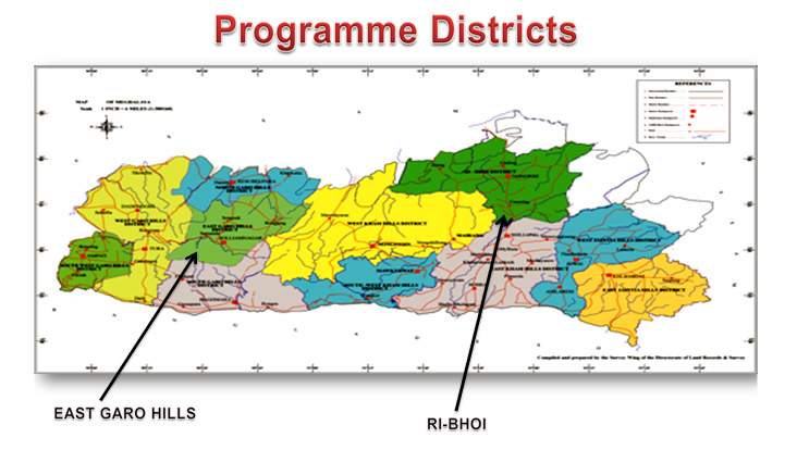 Programme Districts